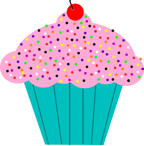 Free Animated Cupcake, Download Free Clip Art, Free Clip Art.