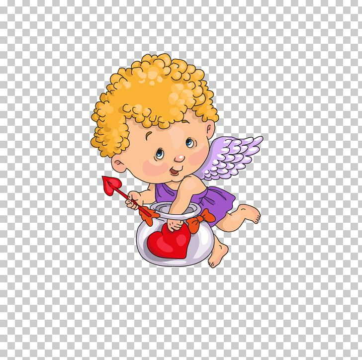 Cartoon Angel Cupid PNG, Clipart, Angel, Angel Vector, Angel.