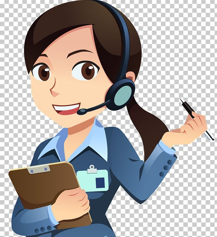 Customer Service Technical Support Email Animation PNG.