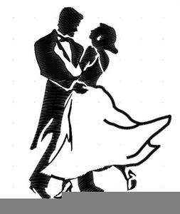 Animated Dancing Couple Clipart.