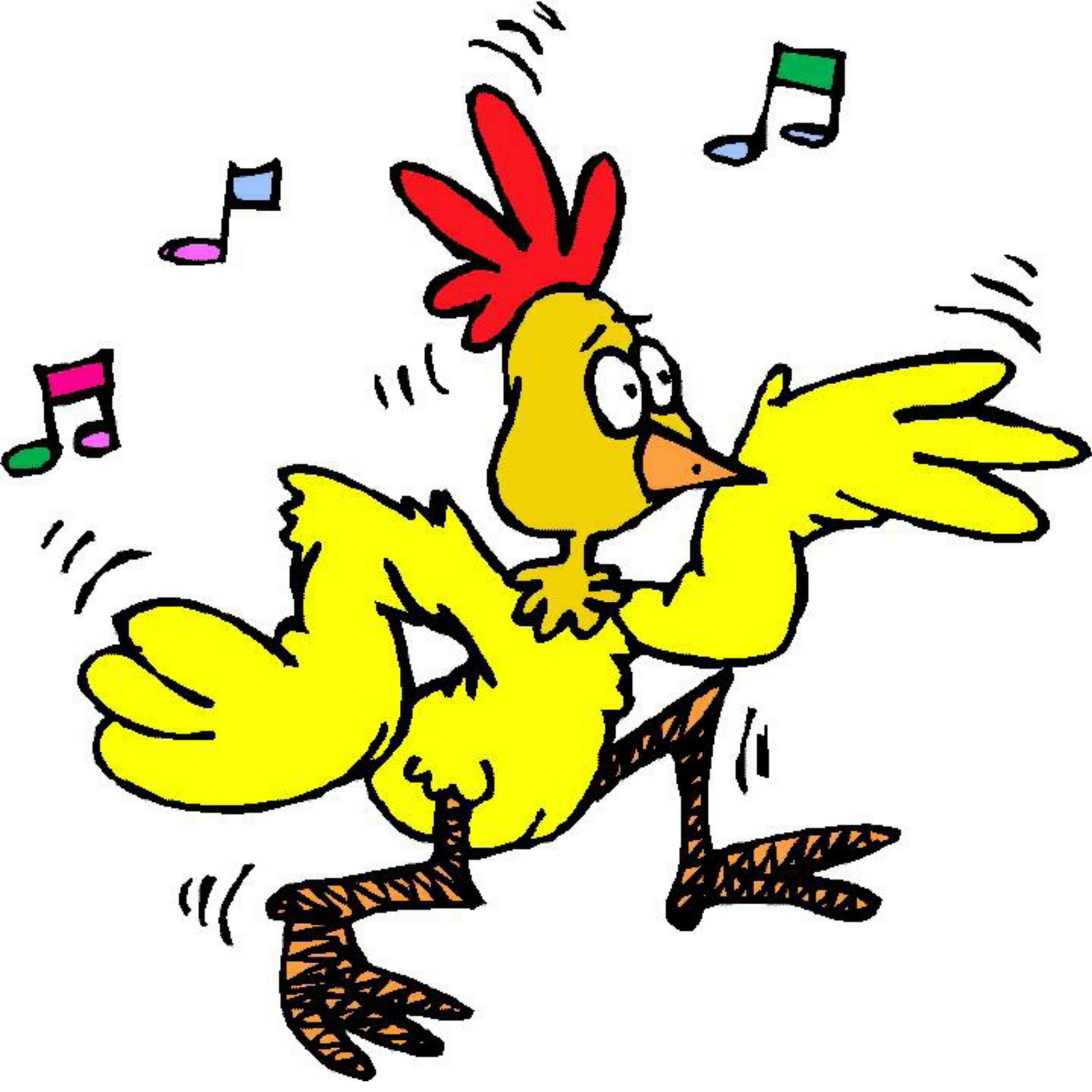 Funky Chicken Dancing Animated Gif Best clipart free image.
