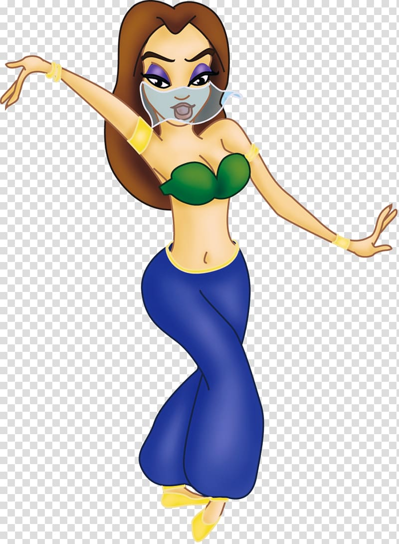 Belly dance Cartoon Animation Drawing, Dancers transparent.