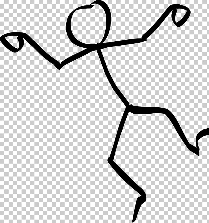 Stick figure Dance , Animation PNG clipart.