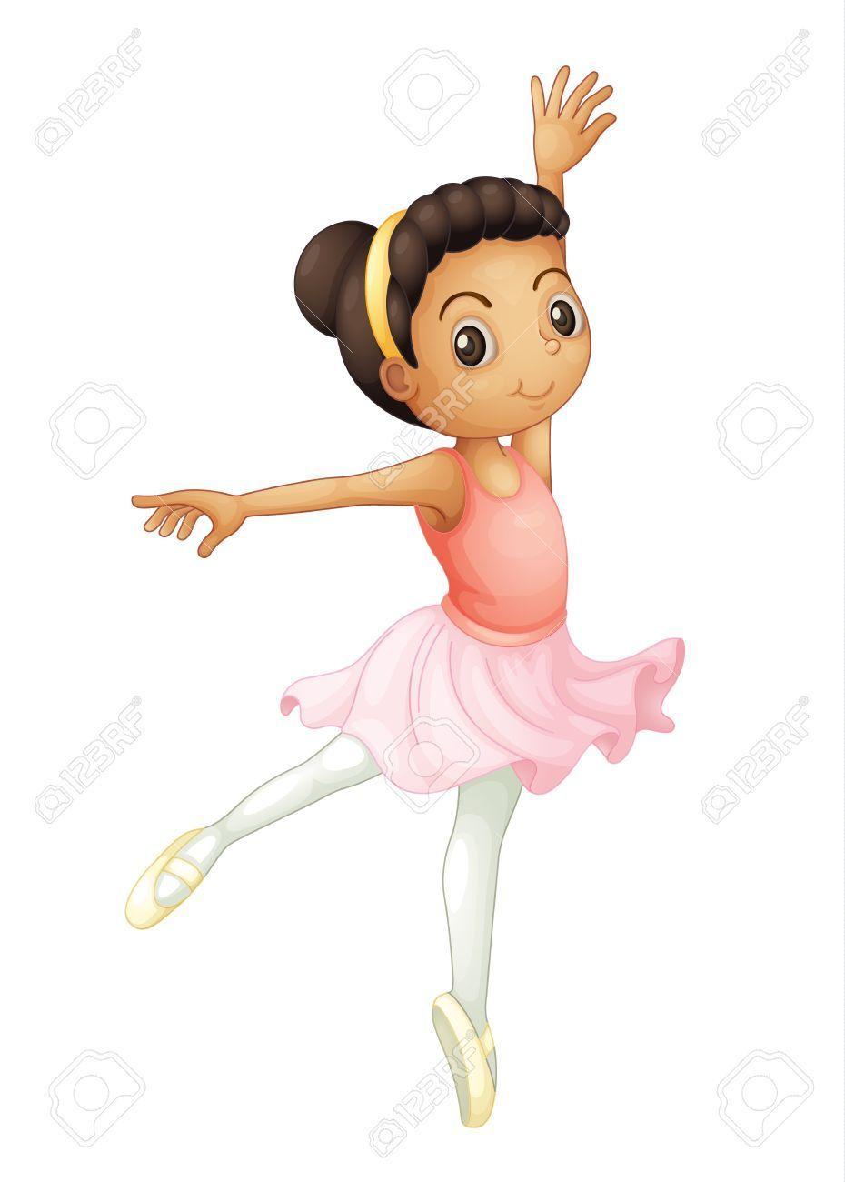 Clipart dancing girl 3 » Clipart Portal.