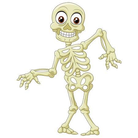 Skeleton Dancing Clipart.