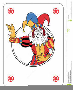 Animated Playing Cards Clipart.