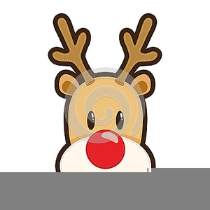 Animated Rudolph The Red Nosed Reindeer Clipart.