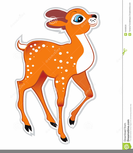 Free Animated Deer Clipart.