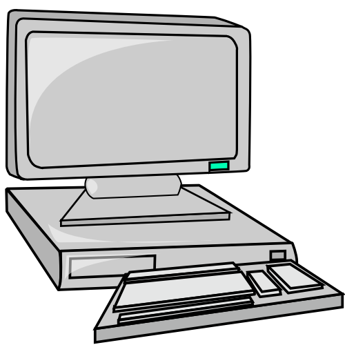Moving Desktop Clipart Hd.