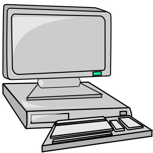 Moving Desktop Clipart Hd.