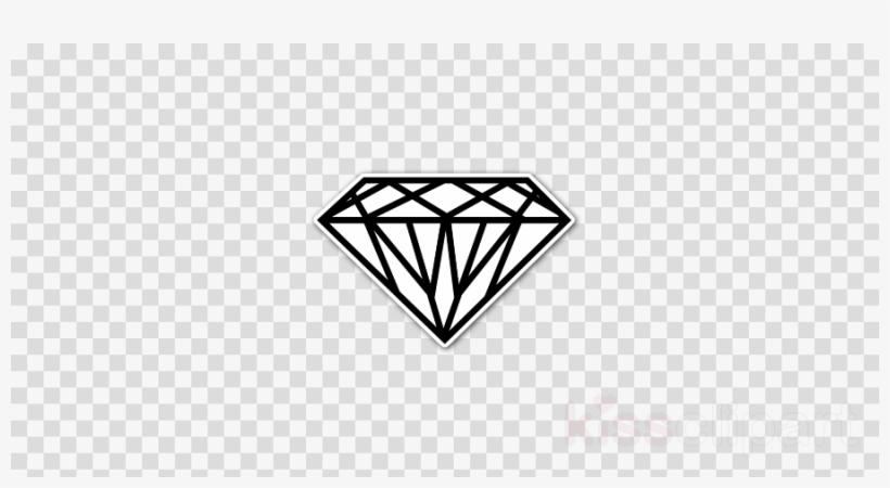 Outline Of A Diamond Clipart Diamond Gemstone Ring.