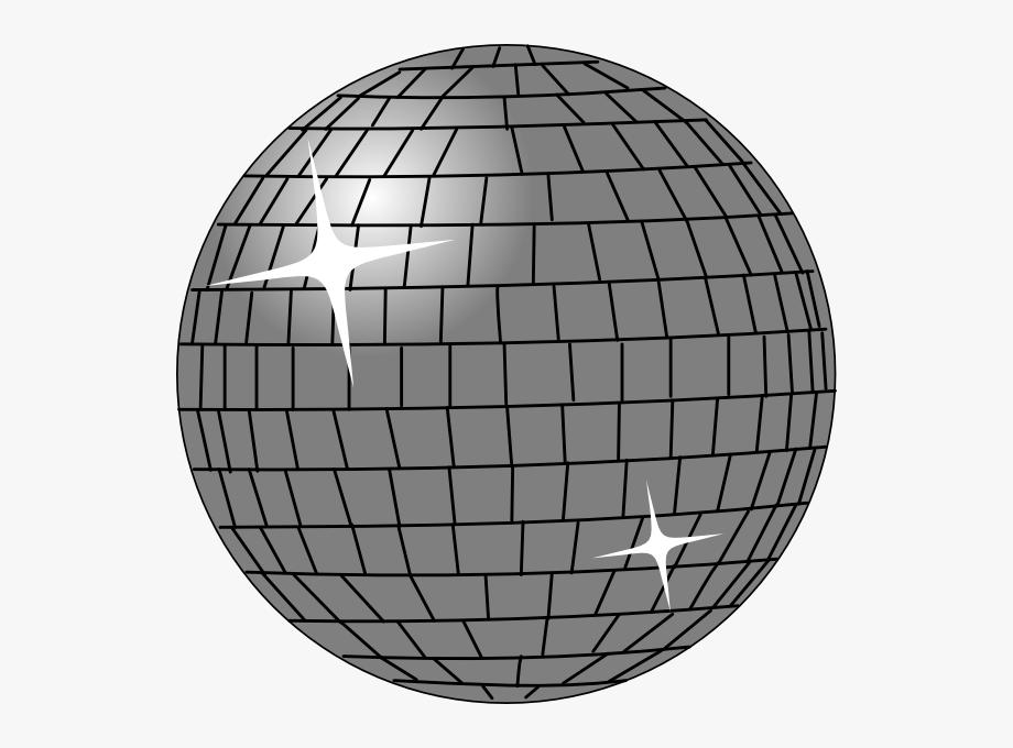 Transparent Background Disco Ball Clipart , Transparent.