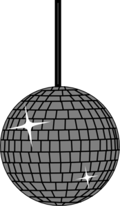 Disco Ball One Clip Art at Clker.com.