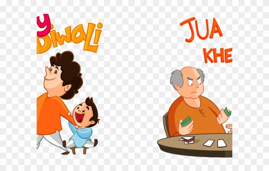 Diwali Clipart Cartoon.