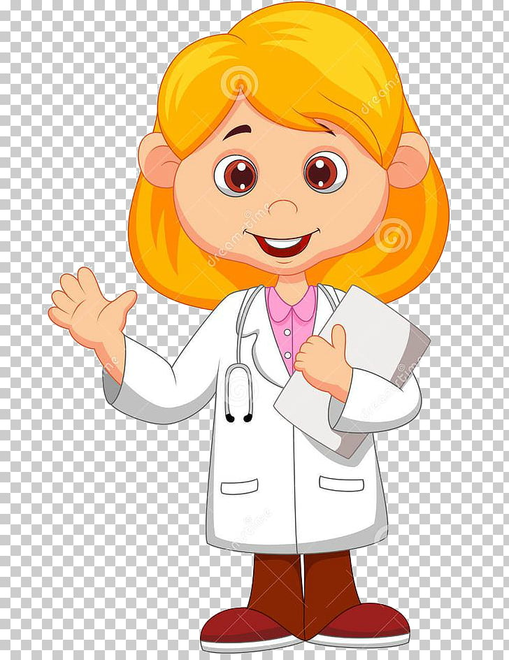 Cartoon Drawing, baby doctor PNG clipart.