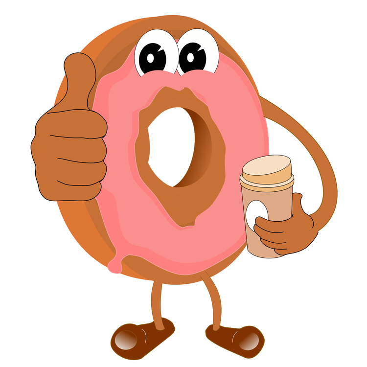 Doughnut clipart animated, Doughnut animated Transparent.