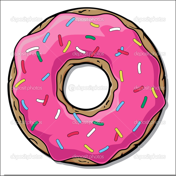 1352 Donuts free clipart.