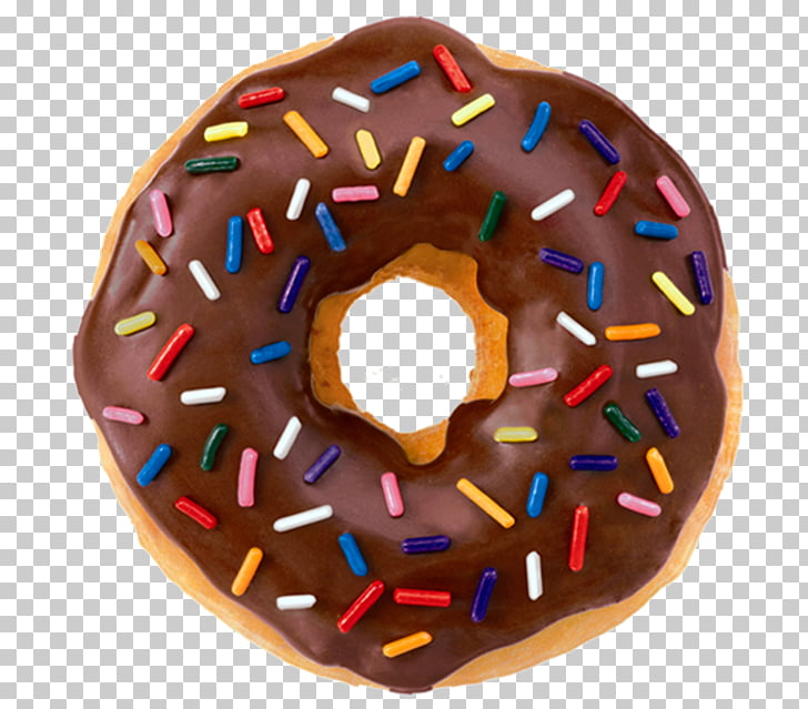 Dunkin\' Donuts Animation Sprinkles, donuts, chocolate.