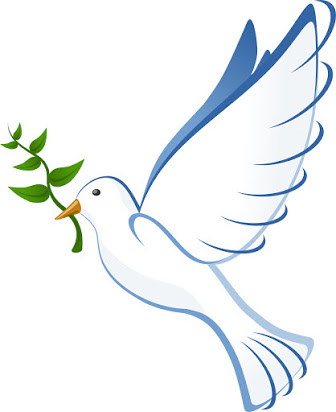 Free animated dove clipart.