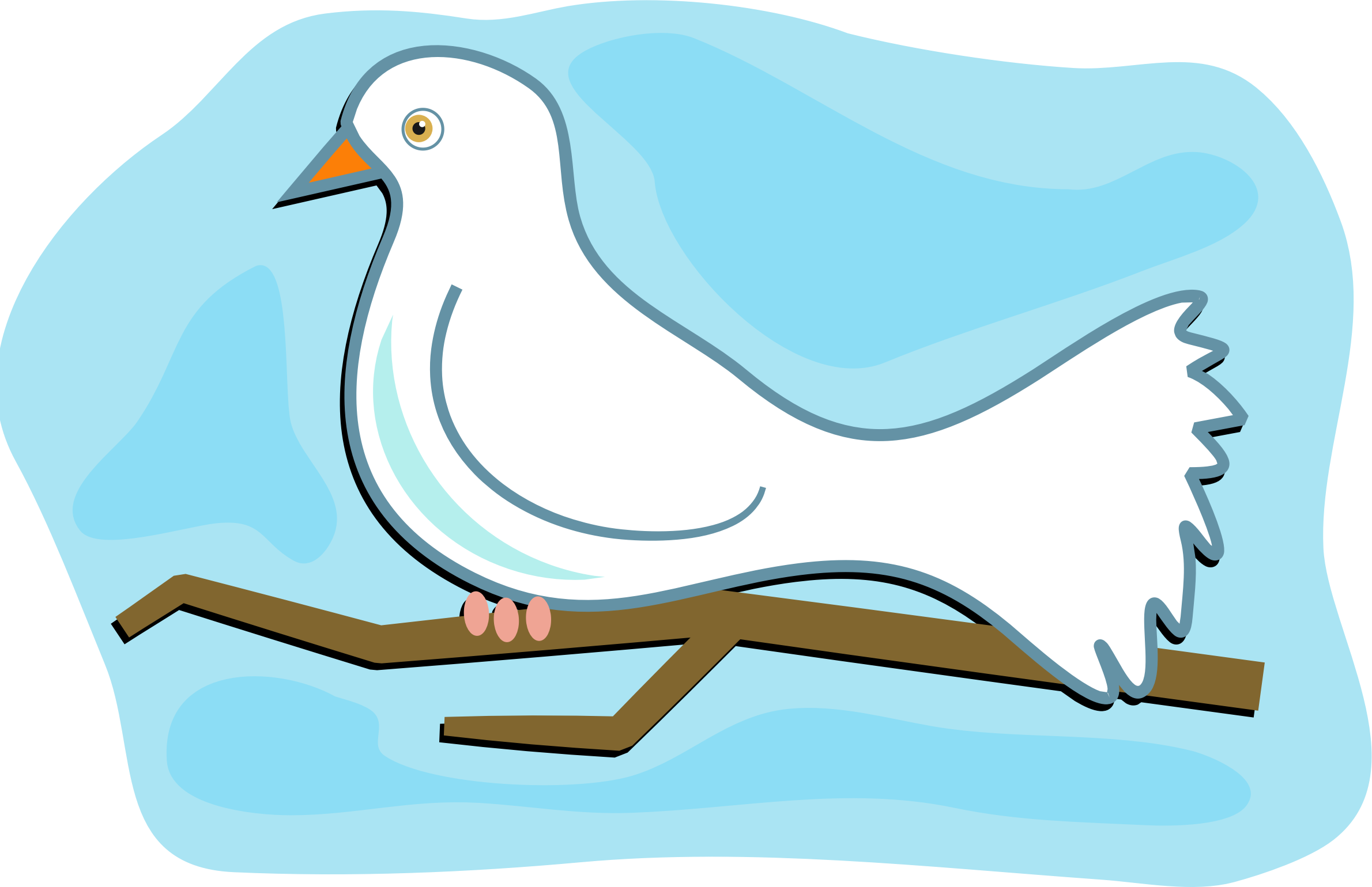 Doves clipart animated, Doves animated Transparent FREE for download.