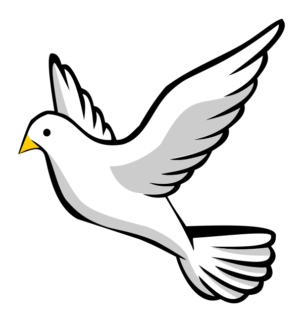 Clipart Of A Dove & Free Clip Art Images #21056.