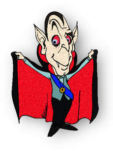Free Vampire Clipart.