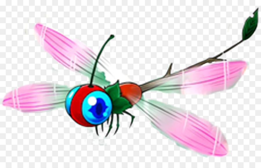 Insect Butterfly Dragonfly Animation Clip art.