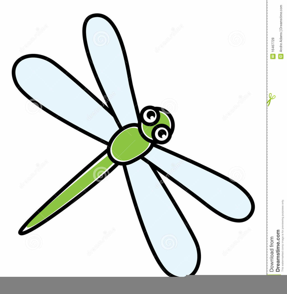 Dragonfly Animated Clipart.