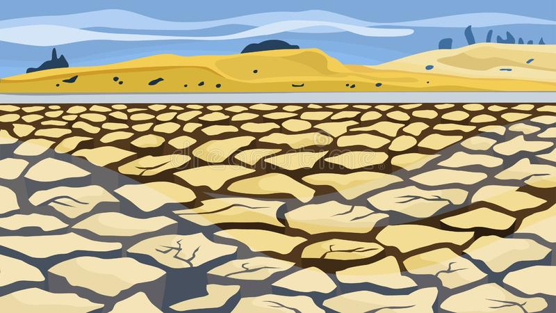 Drought Cartoon Stock Illustrations.
