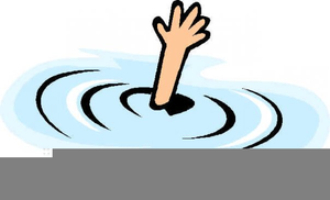 Drowning Animated Clipart.
