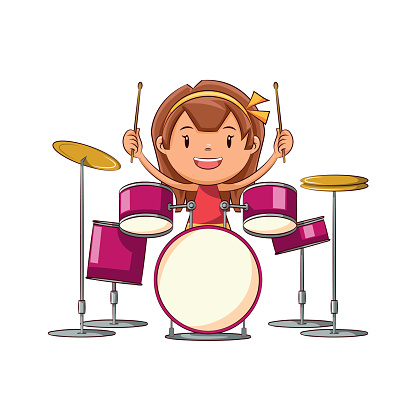 Free Girl Drummers Cliparts, Download Free Clip Art, Free.