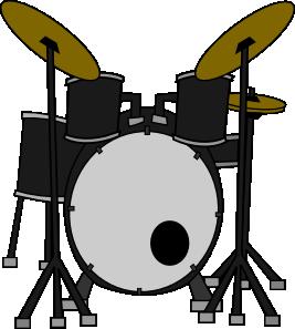 Marcelomotta Drums Clip Art at Clker.com.