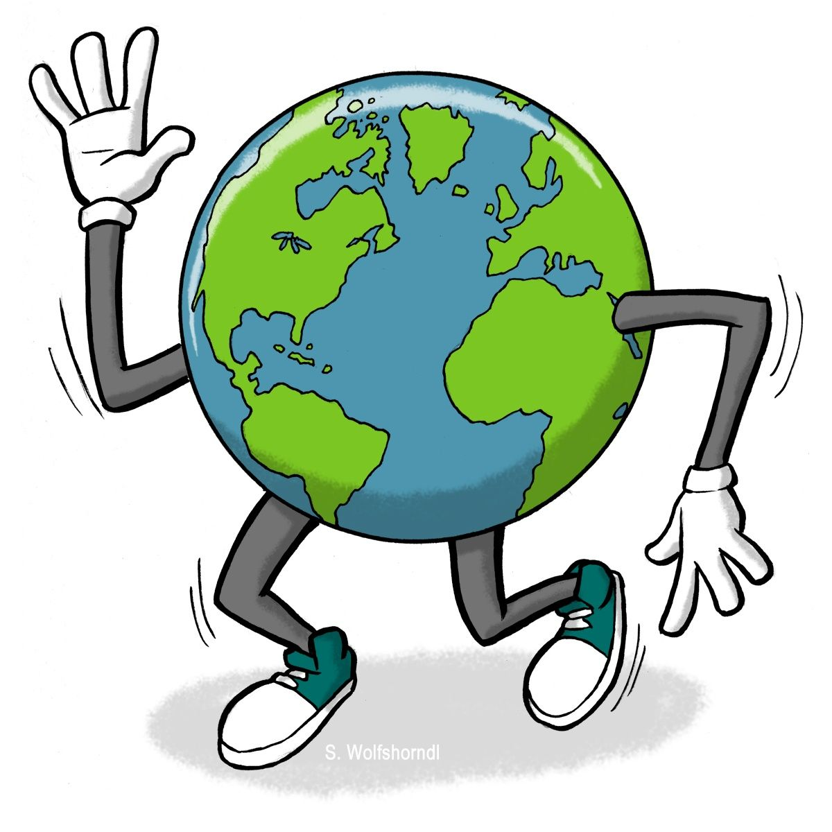 Earth Day Clip Art Animated.