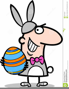 Free Animated Easter Bunny Clipart.