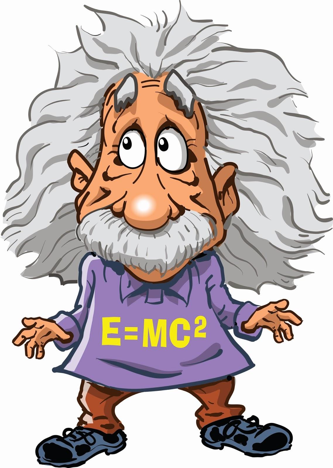 Animated Einstein Cliparts.