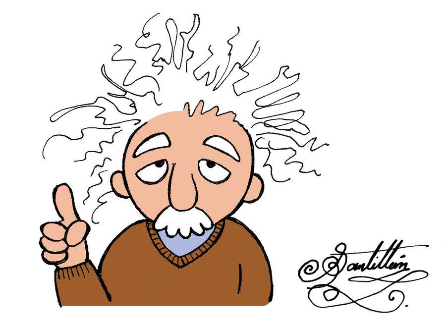 Albert Einstein Cartoon Pictures.