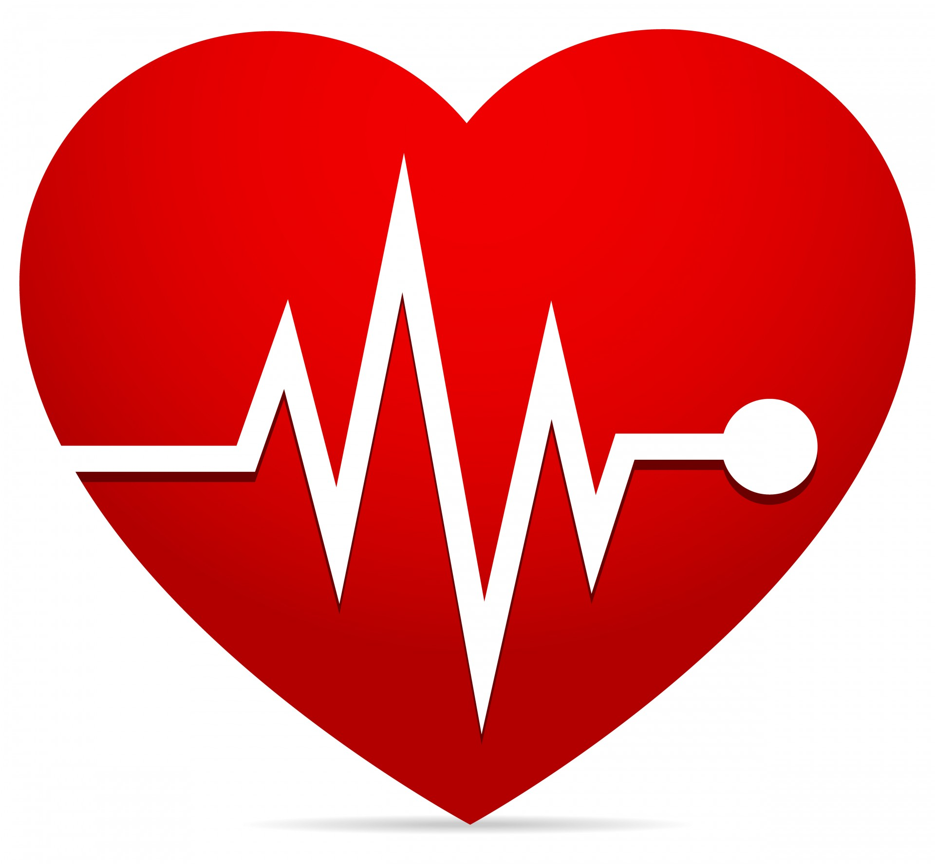 An Animated Heart Monitor EKG Flatlines. With Sound And.