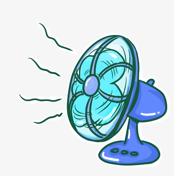 Cartoon Wind Clipart.