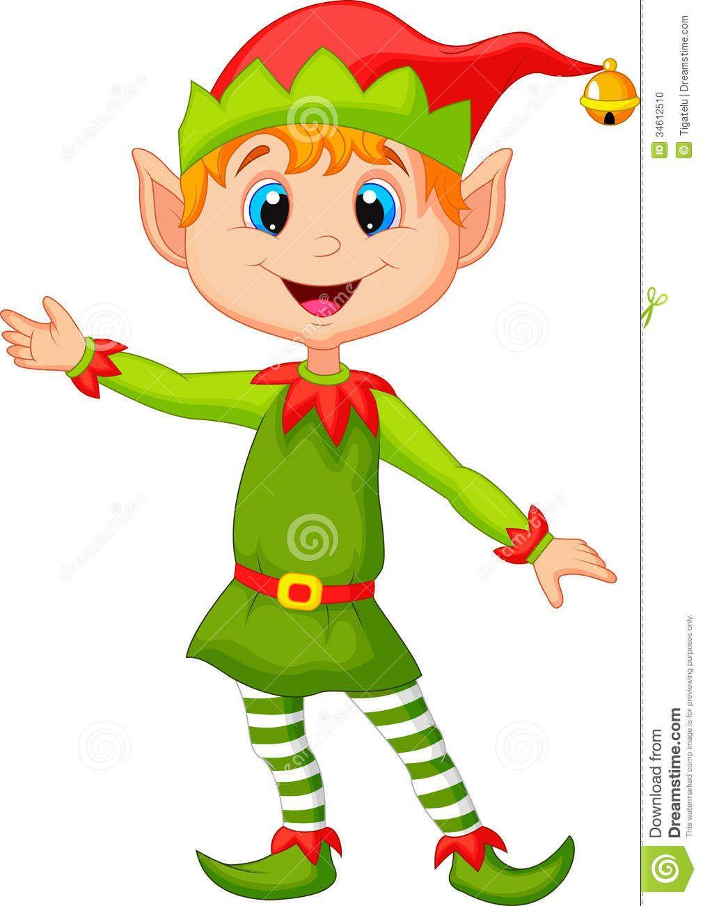 Christmas elf.