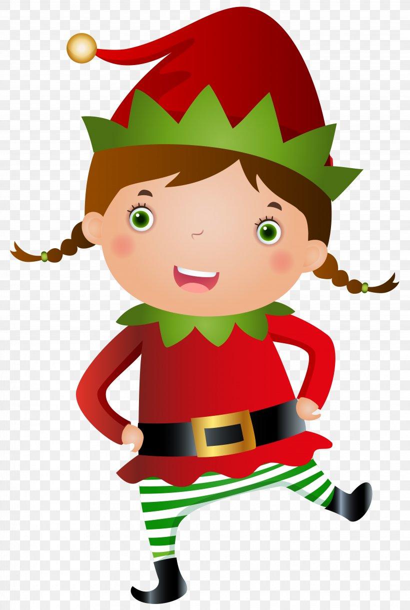 Santa Claus Christmas Elf Clip Art, PNG, 4882x7262px.