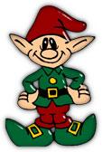 Free Christmas Elf Clipart.