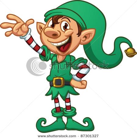 Animated Elf Clipart.