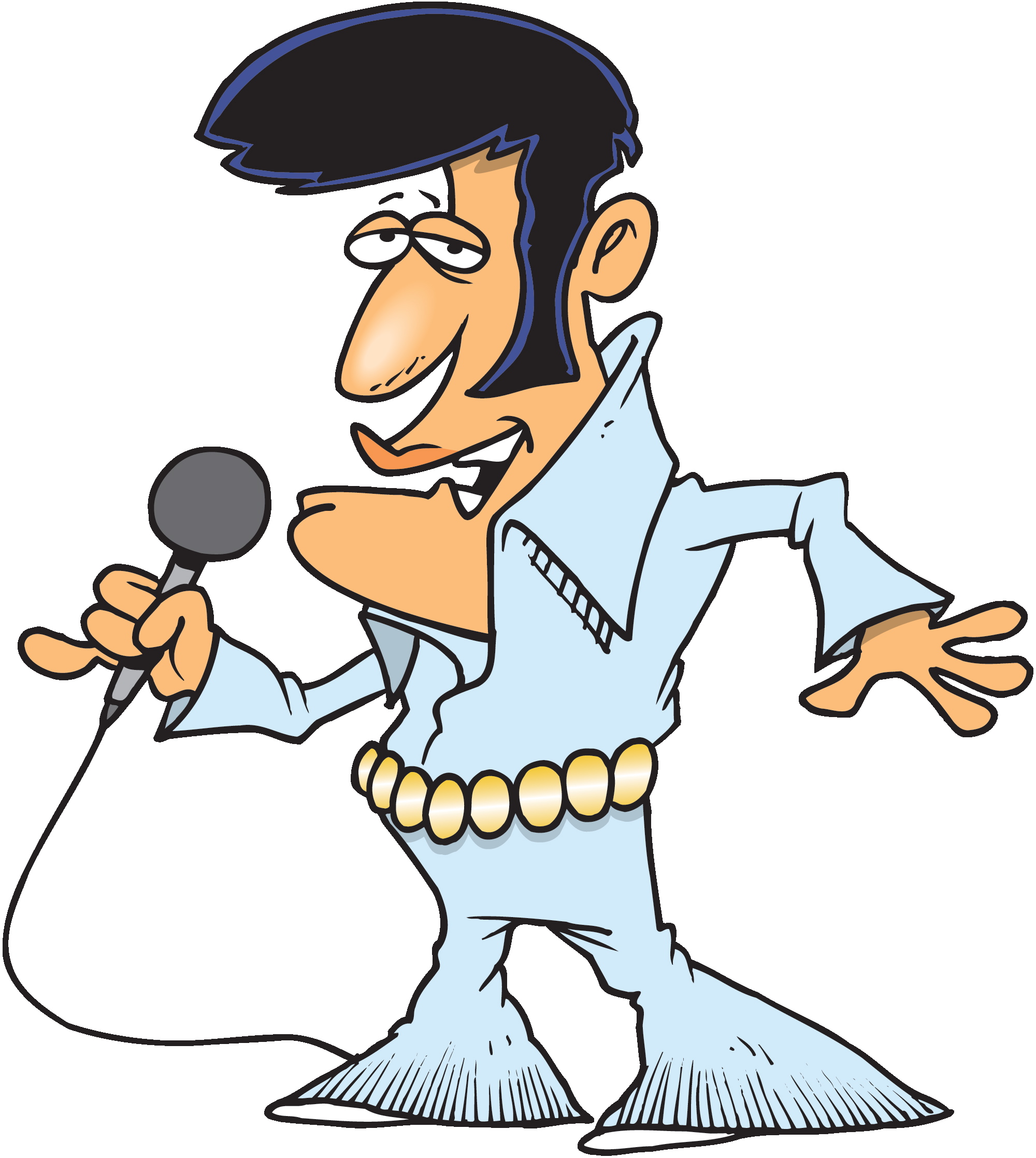 Free Cartoon Elvis, Download Free Clip Art, Free Clip Art on.