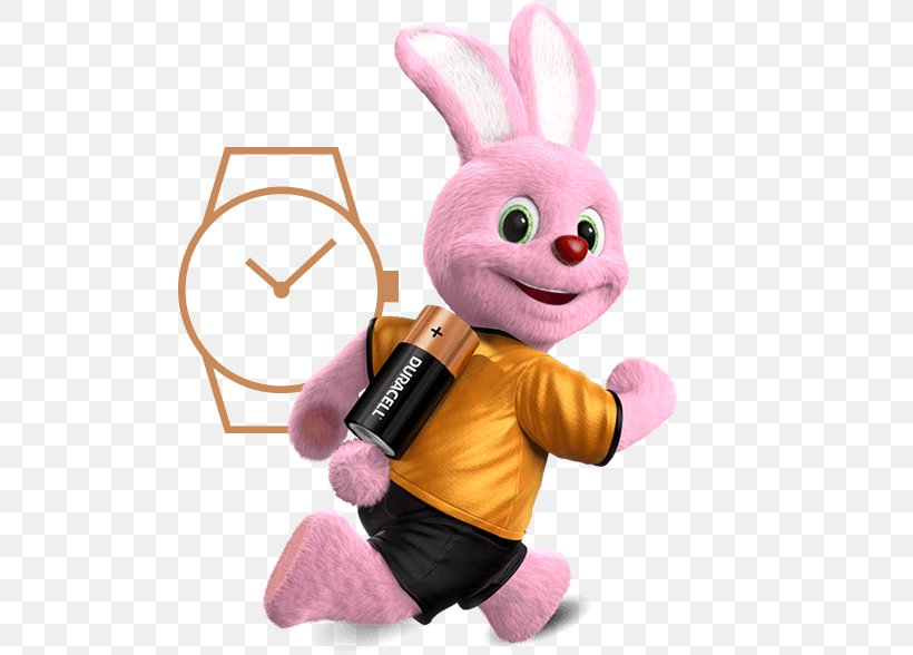 Duracell Bunny Energizer Bunny Rabbit, PNG, 500x588px.