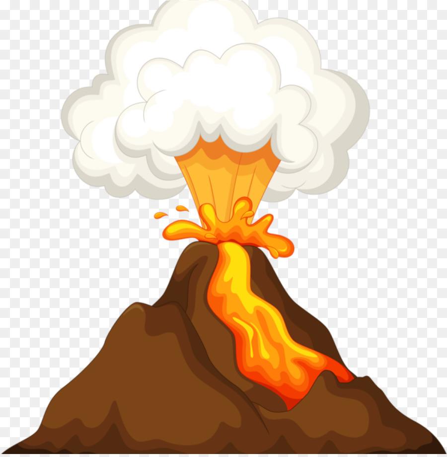 Volcano Cartoon.