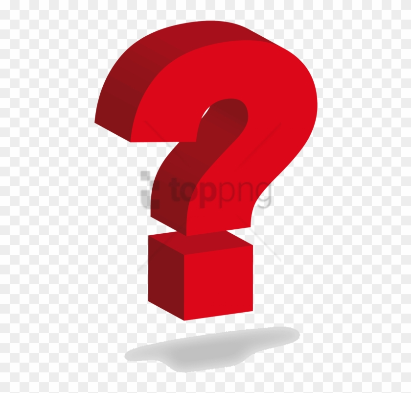 Free Png Red Question Mark Png Png Image With Transparent.