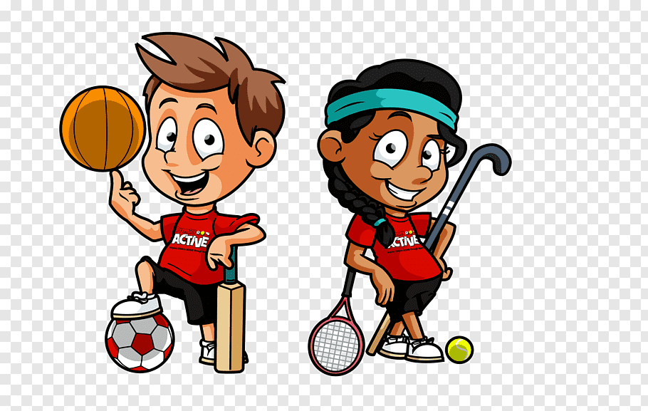 Boy and girl illustration, Physical education Physical.