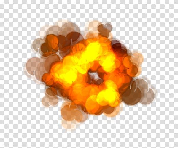 Explosion Animation Sprite, blast transparent background PNG.