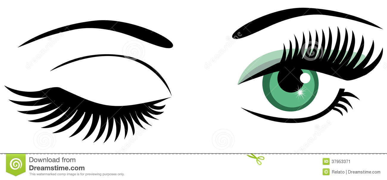 250 Lashes free clipart.