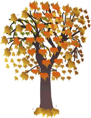 Animated Autumn Clipart.